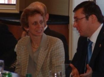 Off-the-Record Luncheon with the Ukrainian Interior Minister, Yuriy Lutsenko