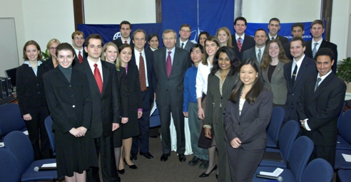 NATO Secretary General engages young Atlanticists during DC visit