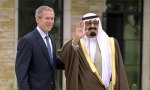 President Bush and Crown Prince of Saudi Arabia
