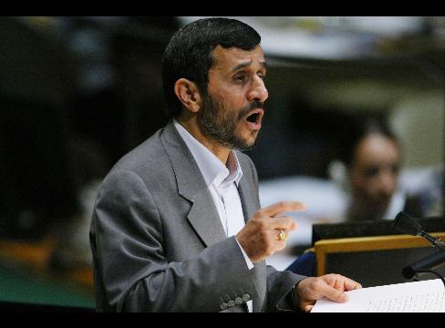 Ahmadinejad Dinner's Main Course Is All Image