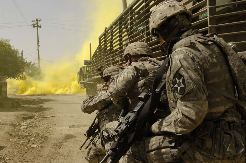 The Incredible, Shrinking Modern Military