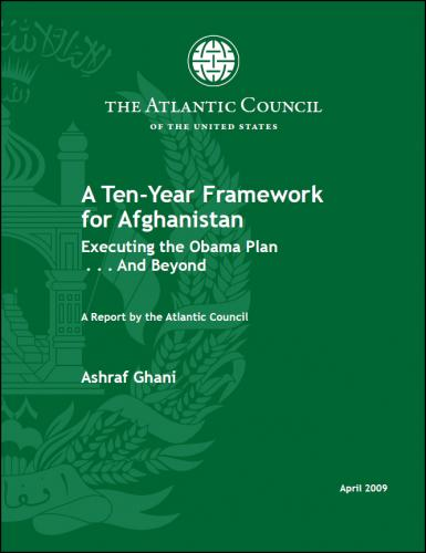 Afghanistan report: A ten-year framework for the future