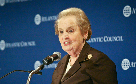 Madeleine Albright on Democracy in Eastern Europe at First Bronislaw Geremek Lecture