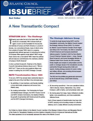 New Transatlantic Compact for NATO
