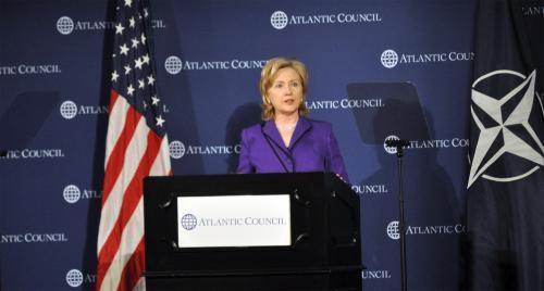 Clinton on Russia and NATO