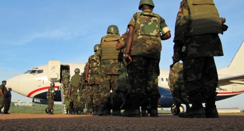 NATO Provides Airlift Support to African Union Mission in Somalia