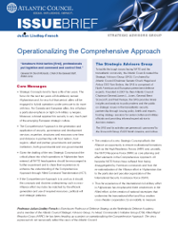 Operationalizing the Comprehensive Approach