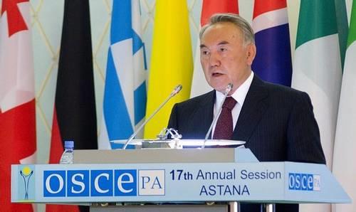 Nazarbayev OSCE