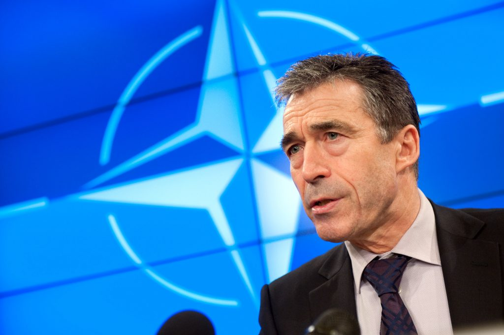 NATO Chief Backs US Threat of Force Against Syria