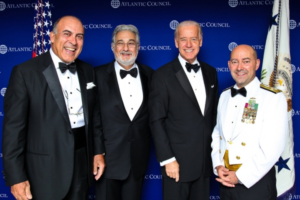 2011 Atlantic Council Annual Awards Dinner: Biden, Stavridis, Kent, Domingo