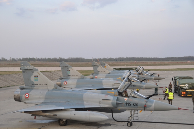 French Air Force takes command of NATO's Baltic Air Policing Mission