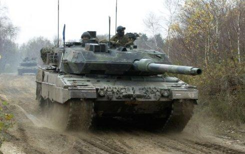 Dutch army losing all its tanks
