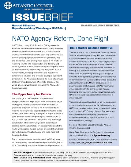 NATO Agency Reform, Done Right