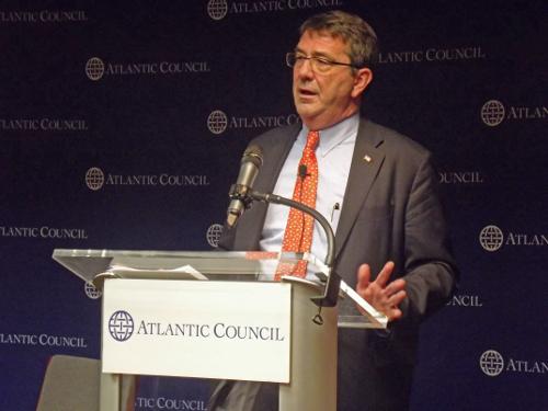 Ashton Carter at Atlantic Council