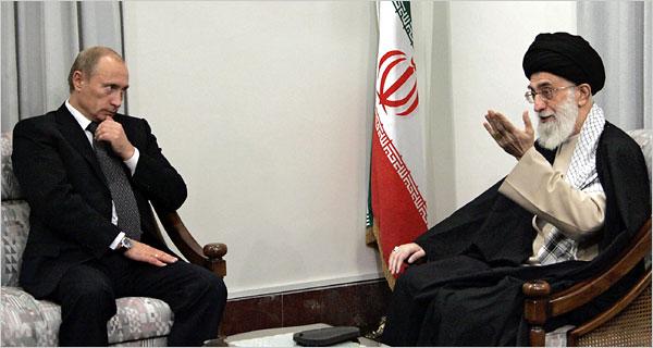 Russia Iran Putin Khameini
