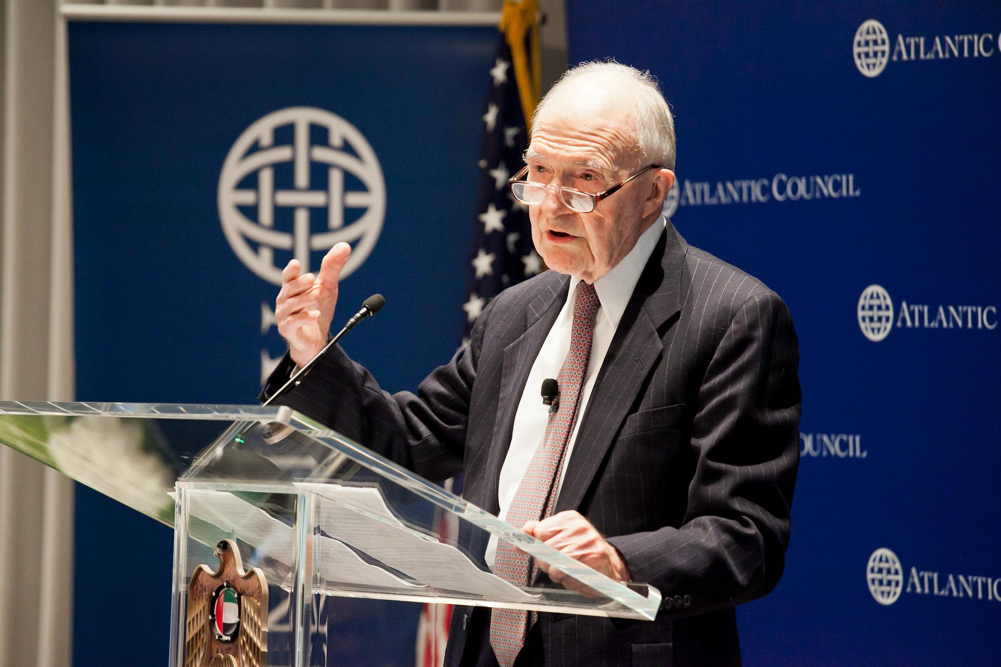 Scowcroft: NATO Future as UN Security Force