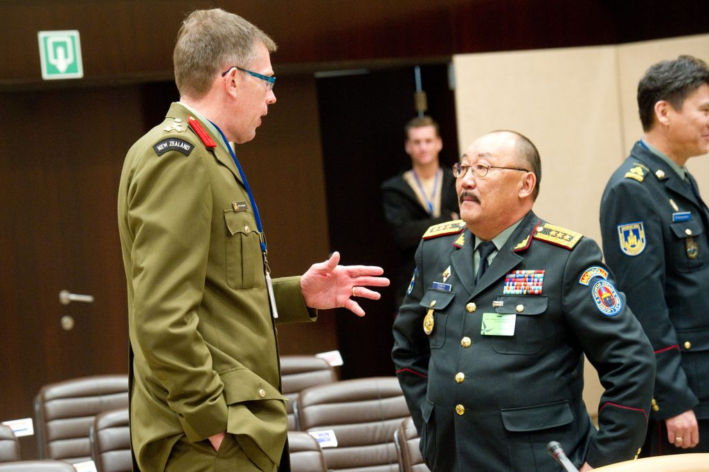 Mongolia strengthening cooperation with NATO