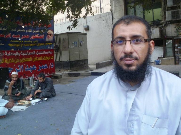 Son of the Blind Sheikh Rejects al-Qaeda's Call to Kidnap Foreigners on his Father's Behalf