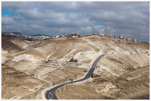 West Bank roads