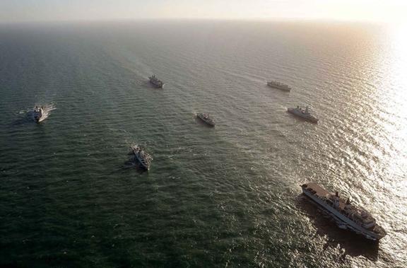 Exercise Joint Warrior fleet 2013