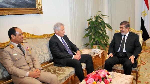 Chuck Hagel in Egypt's Economic Chaos