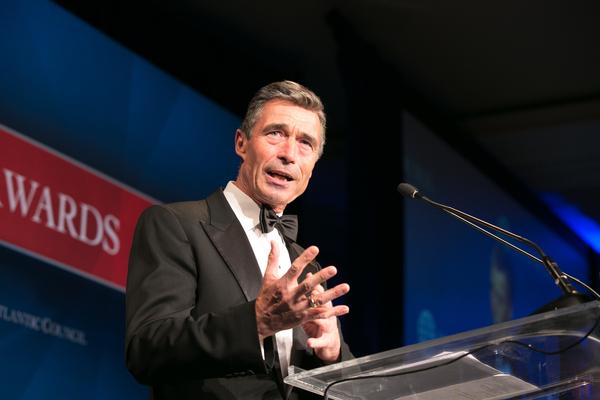 NATO's Rasmussen Urges Striking New Transatlantic Deal