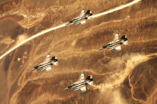 Israeli Air Force F-16s