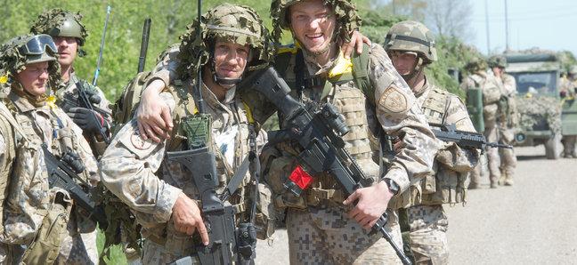 NATO Allies Participate in Estonia's Spring Storm Exercise