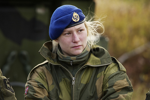 Norway Aims to Double the Number of Women in its Armed Forces