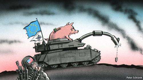 Can Europe Shoulder its Military Burden on its Own?
