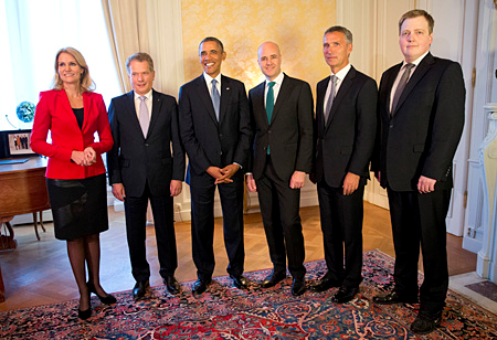 Obama and Nordic Leaders Launch New Security Dialogue