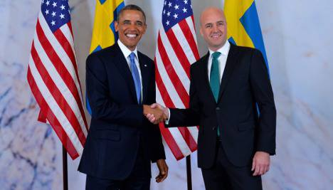 US and Sweden Agree on Key Security Issues
