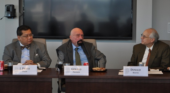 Briefing by Gérard Prunier on Sudan and South Sudan