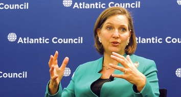"""Nuland Talks """"Transatlantic Renaissance"""" in her First Public Address in Office"""
