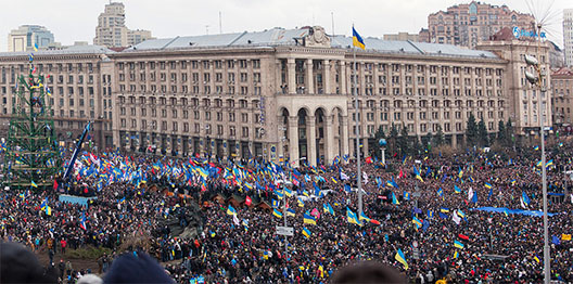 FROM KYIV: Ukraine's Massed Protesters Have Pushed Their Country to a Tipping Point