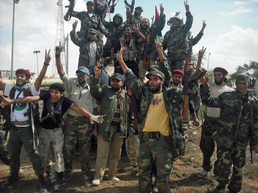 Anarchy at Door, West Starts to Rebuild Libyan Army