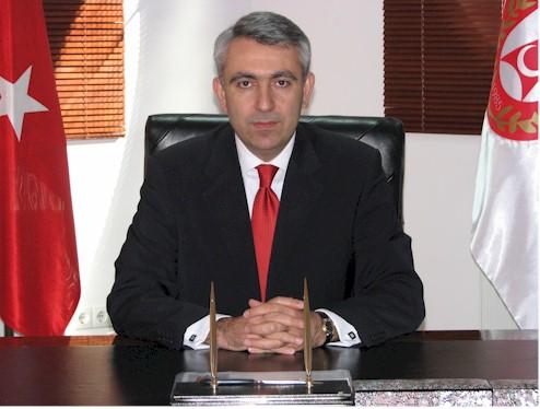 The head of Turkey's Undersecretariat for Defense Procuremen Murad Bayar