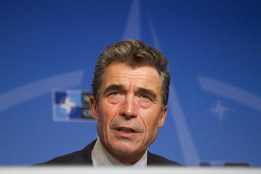 NATO Secretary General Anders Fogh Rasmussen, November 4, 2013