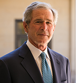 20180216 Atlantic Council Distinguished Leadership Awards George W Bush