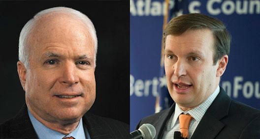 John McCain, Chris Murphy Travel to Kyiv