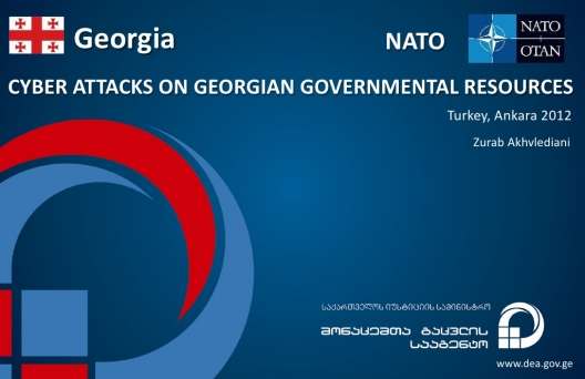 Cyber Attacks on Georgian Governmental Resources