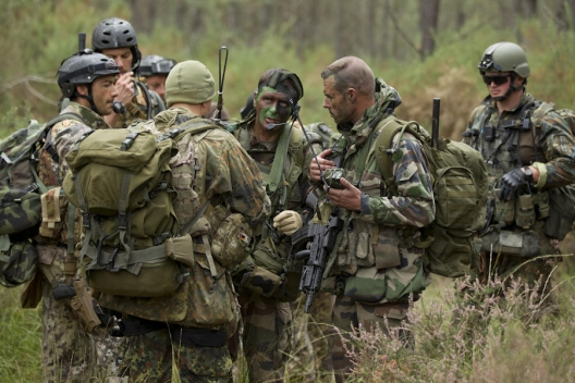 French commandos