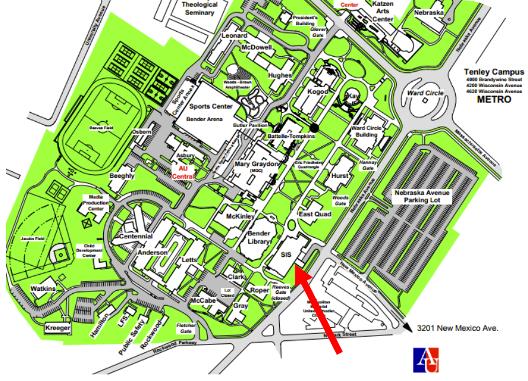 Map AU SIS
