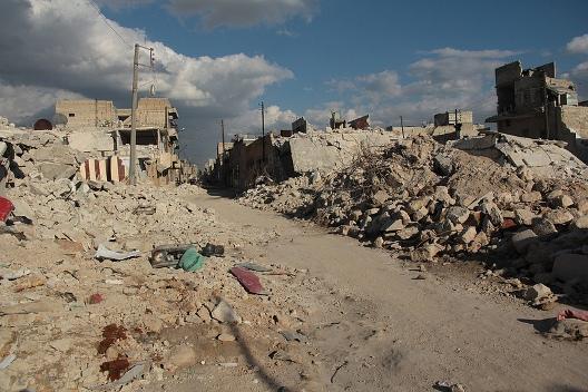 Syria: Barrel Bombs On Aleppo