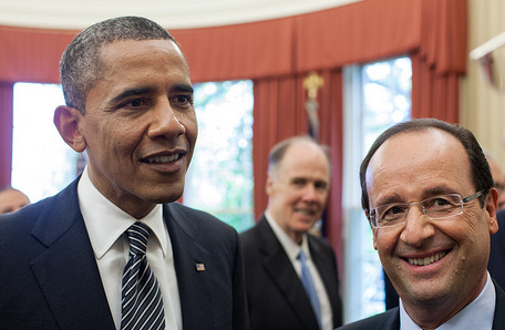 President Barack Obama and French President François Hollande, May 18, 2012