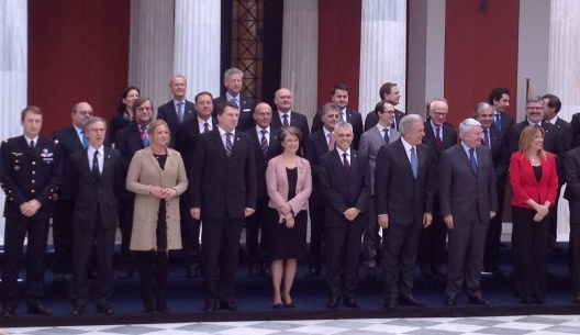 EU defense ministers, February 21, 2014