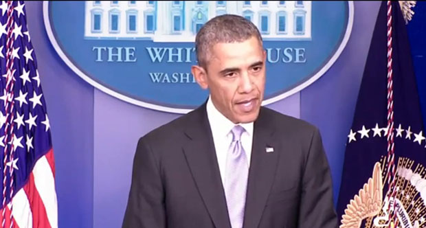 "Obama Warns Russia: ""There Will Be Costs for Any Military Intervention in Ukraine"""