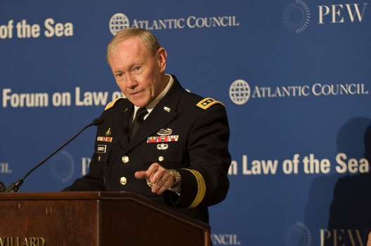 Joint Chiefs Chairman Gen. Martin Dempsey, May 9, 2012
