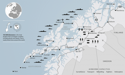 Sixteen Nations Participating in Norway's Cold Response Military Exercise This Week