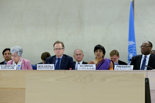 Tip-toeing Toward Criticism: 27 Countries Rebuke Egypt at UN Human Rights Council